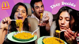Letting The Person In Front of Me Decide What I Eat - Indian Edition | Dhwani Bhatt