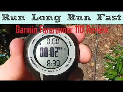 Garmin Forerunner 110 Video Review