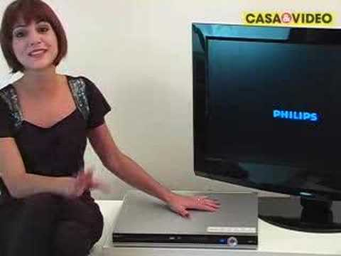 CASA&VIDEO Gravador DVD c/HD Philips DVDR3455H