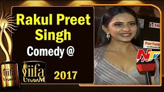 Rakul Preet Singh Comedy @ IIFA Utsavam || #IIFAUtsavam2017