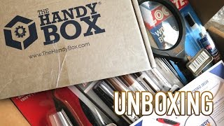 Handy Box Monthly Subscription Box Unboxing