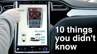 10 things you didn't know about the Model S (and X)