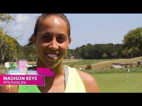 Madison Keys | WTA Live Fan Access presented by Xerox | 2015 Family Circle Cup