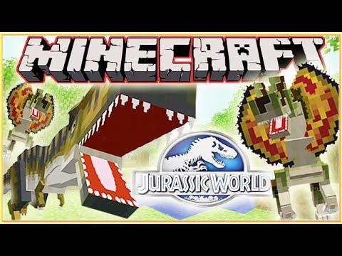 Minecraft Jurassic World Modded Roleplay Adventure! Ep.4