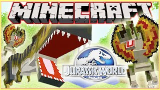 Minecraft Jurassic World Modded Roleplay Adventure! Ep.4
