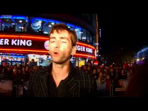 David Tennant - Glorious 39 red carpet interviews