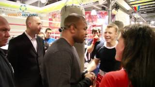 I love fitness - Roy Jones Junior - Vegas Moscow (bugoff.TV)