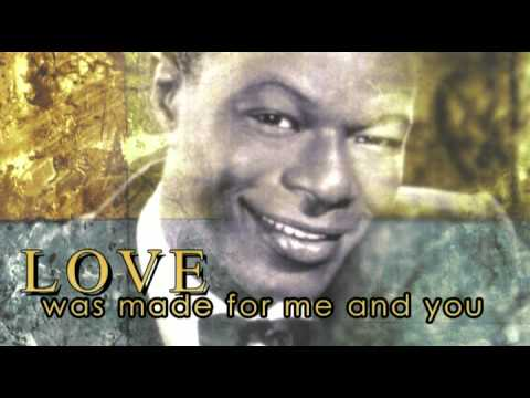 L-O-V-E  Nat King Cole (Lyrics)