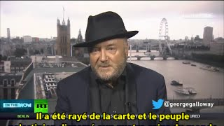 George Galloway Agression & Mécanique Sioniste (01.09.14)