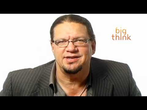 "Don't miss new Big Think videos! Subscribe by clicking here: http://goo.gl/CPTsV5 Religion can cause ""good people to do bad things,"" but Penn Jillette gets a..."