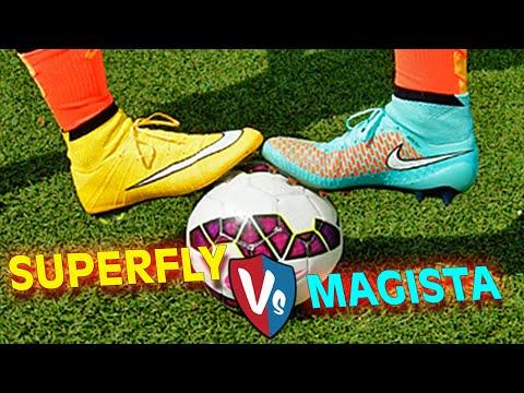 Ultimate Nike Superfly CR7 vs. Magista Obra - Test & Review by freekickerz