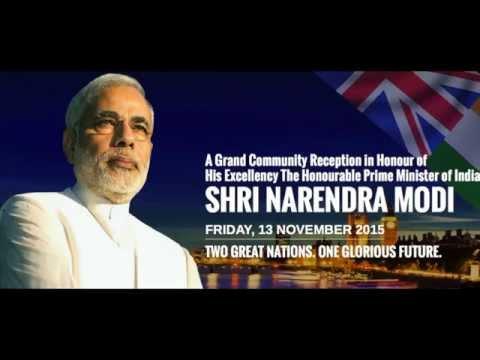 UK Welcome Modi: Prime Minister of India, Shri Narendra Modi Live 3