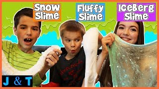 SNOW SLIME / Jake and Ty
