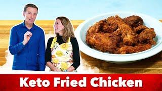 """Keto-Fried Chicken """"KFC"""" Style / by Eric and Karen Berg"""
