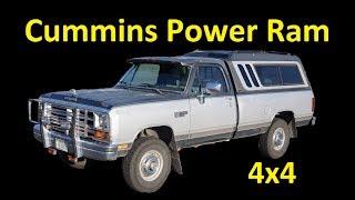 1990 DODGE POWER RAM TURBO DIESEL FIRST GEN CUMMINS