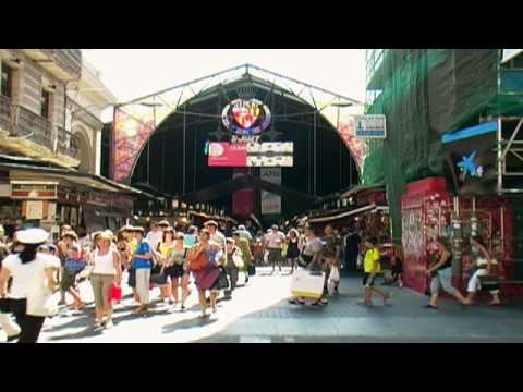 Barcelona Shopping & Markets  www.TravelGuide.TV