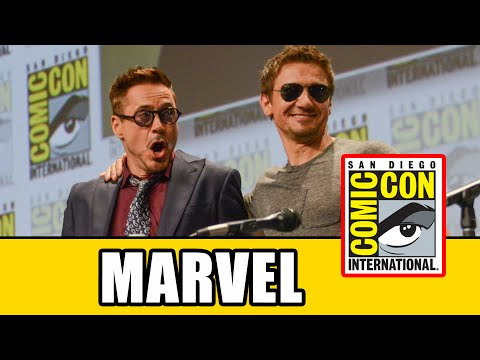 Full Marvel SDCC Official Panel 2014 - Ant-Man & Avengers: Age of Ultron klip izle