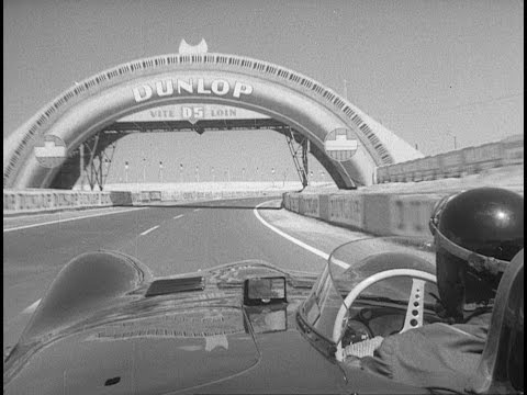 On Board with Mike Hawthorne at Le Mans 1956 | D-type Jaguar
