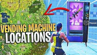 ALL Fortnite VENDING MACHINE Locations!!