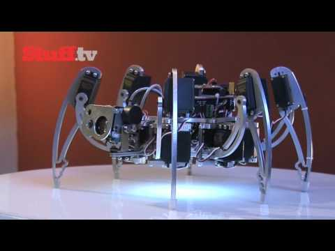 iC Hexapod robot video