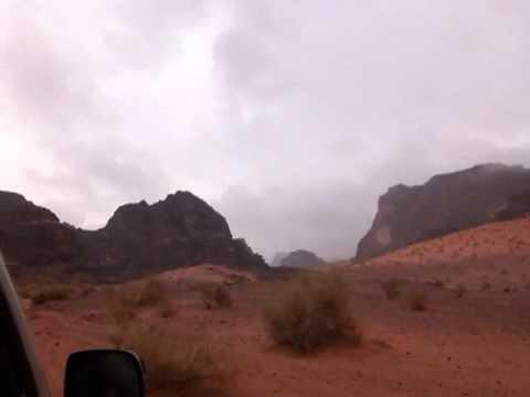 Off-Roading in the Desert: Jordan's Wadi Rum