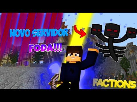 SAIU!! NOVO SERVIDOR DE FACTIONS COM SPAWNER DE WHITER!! (MCPE 1.1.5) {divulgando servers#21}