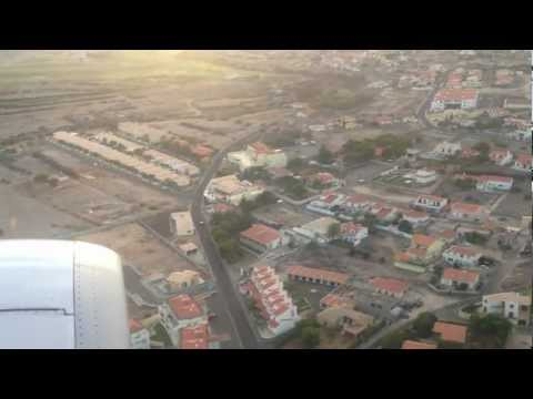 Landing At Porto Santo On 10th Sept 2012