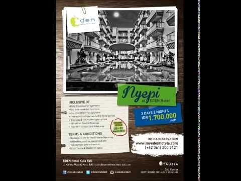 Eden Nyepi Package 2015 - Oz Radio Bali Audio Spot Ads
