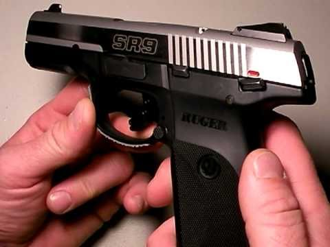 Ruger SR9 pistol:  Gunning for the Glock. Part 1