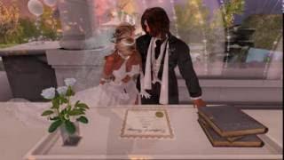 Jasper & Aless Second Life Wedding - 6.4.16