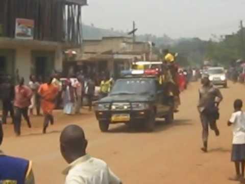 kabaka of Buganda,,Ronald Muwenda Mutebi passing in wakiso