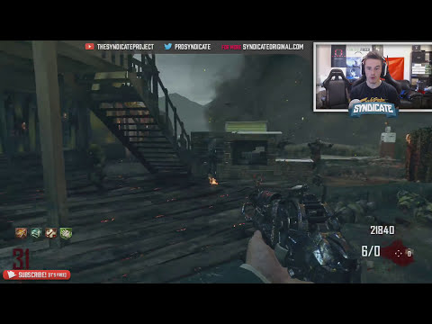 Black Ops 2 Zombies: Nuketown - Race To Round 30 (Livestream)