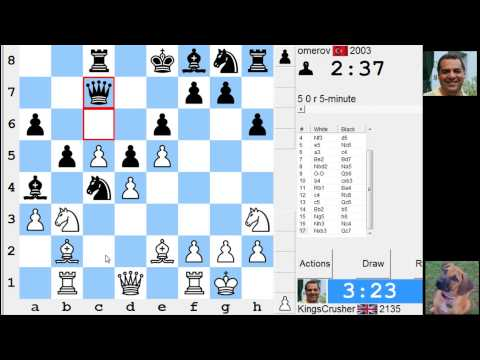 LIVE Blitz #2568  (Speed) Chess Game: White vs omerov in Sicilian: Alapin's variation (2.c3)