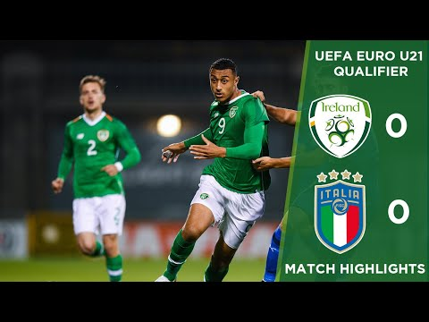 #IRLU21 HIGHLIGHTS | Republic of Ireland 0-0 Italy - UEFA U-21 European Championships