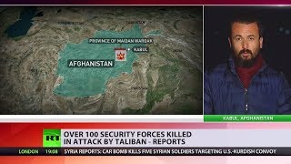 Over 100 security killed in Taliban attack on Afghan military training center – reports