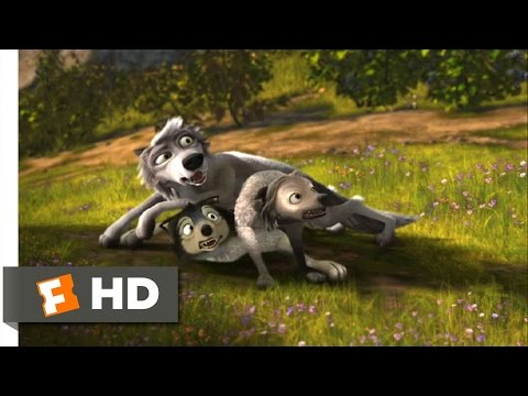 Alpha And Omega (1 12) Movie Clip - Wolf Pile (2010) Hd video