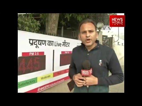 Pollution Meter Of Delhi | Abhinav Upadhyay