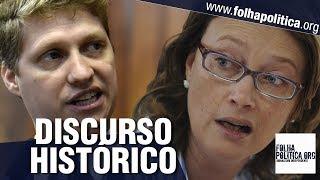 Jovem deputado faz discurso histórico: lição de moral em petistas que sabotam Bolsonaro - van Hattem
