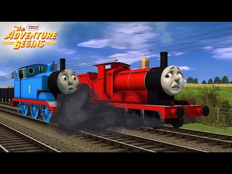 Download Video Thomas And Friends: The Adventure Begins - James