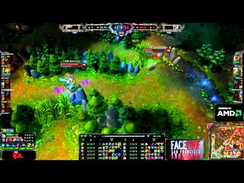 TSM vs Orbit - Game 1 - IPL Face Off - League of Legends