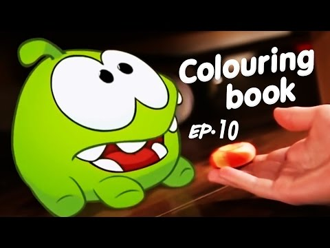 Learning Colors with Om Nom - Episode 10 - Strange Delivery cut the rope @ KEDOO ANIMATIONS 4 KIDS