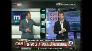 C5N - MINUTO  UNO: INFORME ESPECIAL SOBRE IRON MOUNTAIN