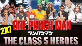 One Punch Man - 2x7 The Class S Heroes - Group Reaction