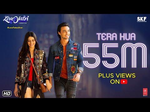 Atif Aslam: Tera Hua Video | Loveratri | Aayush Sharma | Warina Hussain | Tanishk Bagchi Manoj M