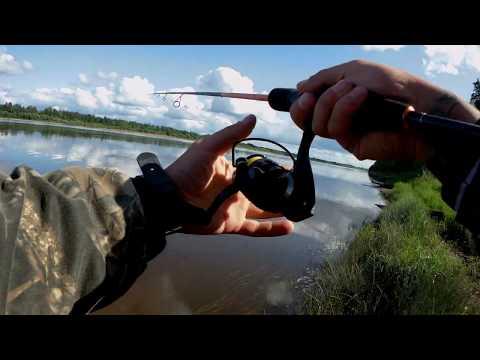 рыбалка на маленьких речках на поплавок