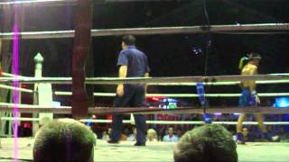 Muay Thay Fight in Chiang Mai (Thailand)