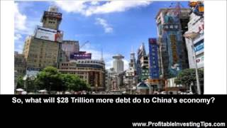 What Will $28 Trillion More Debt Do to China's Economy?