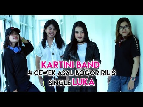 Download Kartini Band, 4 Cewek Asal Bogor Rilis Single LUKA Mp4 baru