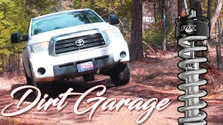 Lifting a Tundra - Fox 2.0 Lift Struts Install + New Upper and Lower Control Arms