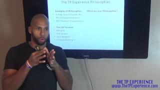 Attitude Training- TP Experience Philosophy